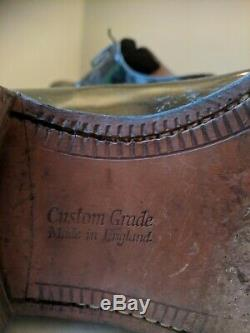 Church's Black Patent Leather Classic Derby Shoe. Custom Grade. UK 11 / EU 46