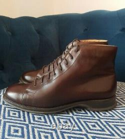 Church's Brown Leather Custom Grade Laced Boots Size 9.5