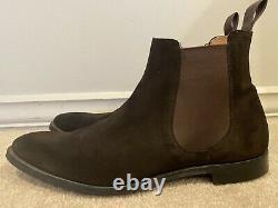 Church's Chelsea Boot Houston Custom Grade Brown Superbuck Size 12 (US)