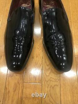 Church's Custom Grade Black Patent Loafer Men's Shoes Size 105 F Us 11.5 M