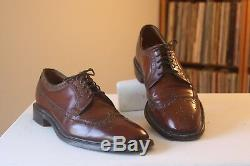 Church's Custom Grade Brown Leather Lace Up Derby Brogues Shoes UK Size 9.5 C