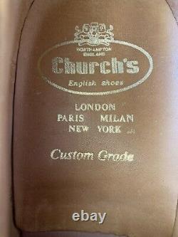 Church's Custom Grade Calf leather duo tone shoes size 10F