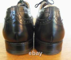 Church's Custom Grade Chetwynd Black Oxford Brogues Size 9.5 C
