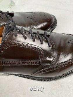 Church's Custom Grade Dark Brown Oxford Shoes US 11F England