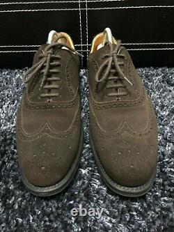 Church's Custom Grade Men's Brown Suede Berlin Brogues 80 G UK 8