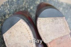 Church's Custom Grade Mens Cordovan Plain Toe Derby Oxfords Made in England