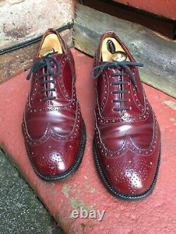 Church's Custom Grade Oxford Brogues,'Burwood', (UK) 11 G, (EU) 45, (110G81)