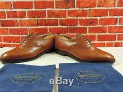 # Church's Custom Grade Oxford Caps UK 9 US 10 EU 43 F Tan Minor Use with Bags