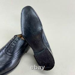 Church's Custom Grade derby oxfords dress lace up black leather 8.5 US 41,5 EUR