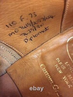 Church's Diplomat Custom Grade Brogue Cap Toe Oxfords Made In England Size 10 F