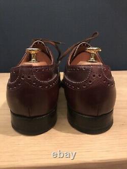 Church's Diplomat half brogue shoes size UK 10.5 E Custom Grade
