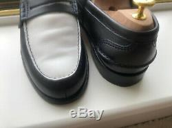 Church's Loafers Famous English Shoes Custom Grade Leather 2 tone mint condition