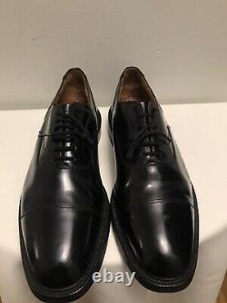 Church's Mens Black Leather Custom-Grade Cap-Toe Dress Size EUR 10.5 F 11.5 US