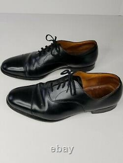 Church's Mens Shoes 11.5 G Custom Grade Leather Cap Toe Lace Up Dress Shoes