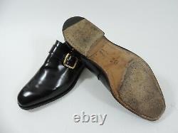 Church's Mens Shoes Black Buckle UK 9 US 10 EU 43 F Custom Grade minor use