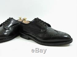 Church's Mens Shoes Black Grafton UK 9 US 10 EU 43 F Custom Grade Box Bags