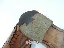 Church's Mens Shoes Brogues custom grade UK 8.5 G US 9.5 EU 42.5 mid tan