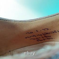 Church's Mens Shoes Custom Grade Brogues Tan Calf UK 7F US 8 EU 41 Minor Use