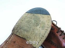 Church's Mens Shoes Custom Grade Brogues Tan Calf UK 8 F US 9 EU 42 Minor Use