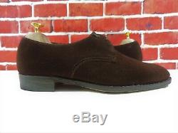 Church's Mens Shoes Custom Grade Brown Suede Oxford UK 7 US 8 EU 41 F Pre Prada