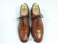 Church's Mens Shoes Custom Grade Oxford Cap Toe UK 7 US 8 EU 41 F Worn Once Tan
