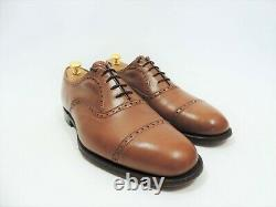Church's Mens Shoes Custom Grade Tan Brogue Caps UK 10 US 11 EU 44 F Minor Use