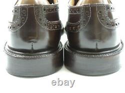 Church's Mens Shoes Custom Grade brogues UK 9 US 10 EU 43 F Boxed Ebony Kenton
