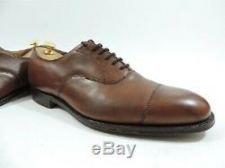 Church's Mens Shoes Tan Custom Grade Oxford UK 11 US 12 EU 45 F Worn Once Twice