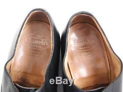 Church's custom grade oxfords, black leather, men's size EU 45.5 UK 11.5 £400