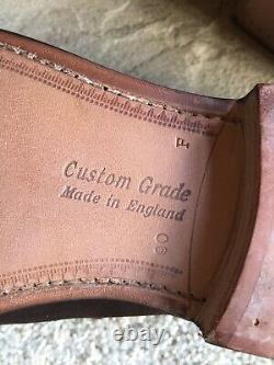 Church shoes Uk 9 Brown Suede Loafers Darwin Custom Grade Red Dot