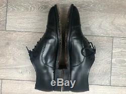 Churchs Consul II Black Custom Grade Leather Oxford Shoes Size UK8 F RRP£495