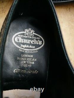 Churchs Custom Grade Brogues Black Uk 9 Portmore Unworn Condition