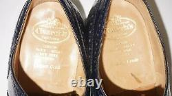 Churchs Custom Grade'Burwood' Cobalt Blue Brogue Mens Wingtips Sz 11 G