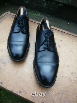 Churchs Custom Grade Derby Black Uk 8.5 Cartmel Unworn Condition