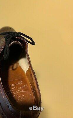 Churchs Custom Grade Diplomat Captoe Oxford Shoes 10 D