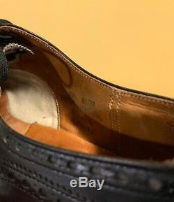 Churchs Custom Grade Diplomat Captoe Oxford Shoes Black 10 E