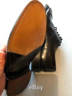 Churchs Custom Grade Lancaster Polished Binder Oxford Black 7.5 G RRP£570