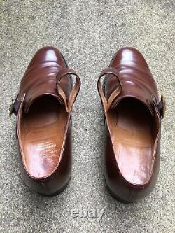 Churchs Custom Grade Monk Shoes, Westbury, (UK) 10 F/G