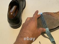 Churchs Mens Black Diplomat Oxford Brogue 11 G Custom Grade Shoe