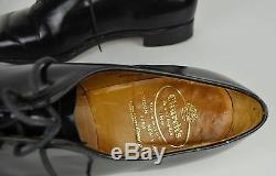 Churchs New Yorker Custom Grade Black Leather Dress Shoes Mens 10.5 C Plain Toe
