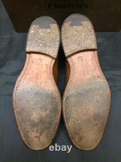 Churchs Shoes Brown Calf Leather Custom Grade Size 85F 8.5 UK Mens Box