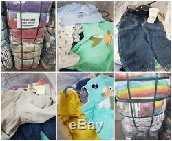 Compressed used clothes, Grade A Kids, boys and girls age 0-12 years 55 kilo