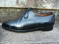 Crockett & Jones Hand Grade Brogues Black Uk 9 Very Good Condition