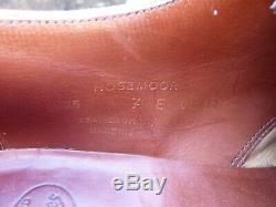 Crockett & Jones Hand Grade Brogues Brown / Tan Uk 7 Rosemoor Ex Cond