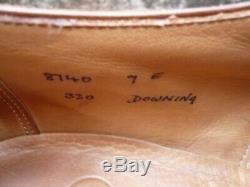 Crockett & Jones Hand Grade Brogues Brown / Tan Uk 9 Downing Ex Condition