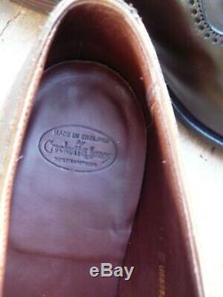 Crockett & Jones Hand Grade Brogues Brown Uk 11 Courtenay Excellent Cond