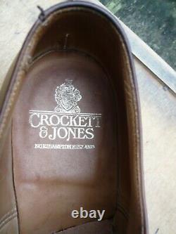 Crockett & Jones Hand Grade Brogues Brown Uk 9 Excellent Condition