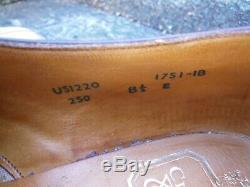 Crockett & Jones Hand Grade Derby Brown Uk 8.5 Woodstock Unworn Cond