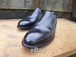 Crockett & Jones Hand Grade Loafers Black Uk 11 Superb Condition