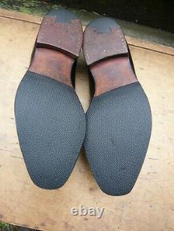 Crockett & Jones Hand Grade Loafers Black Uk 9.5 Walton Excellent Cond